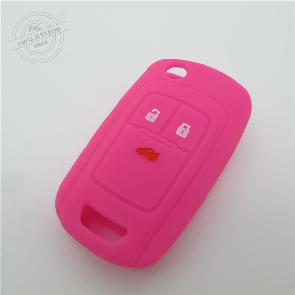 Buick encore car key covers,colored silicone key covers,key silicone case for Buick